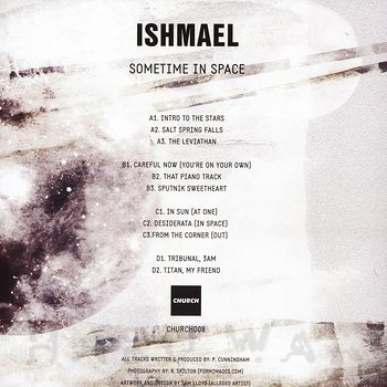 Cover art - Ishmael: Sometime In Space