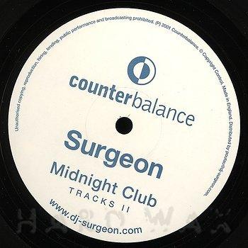 Cover art - Surgeon: Midnight Club Tracks II