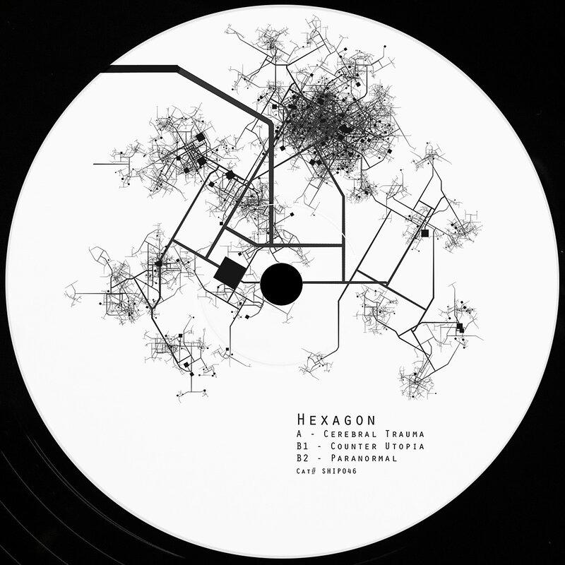Cover art - Hexagon: Counter Utopia