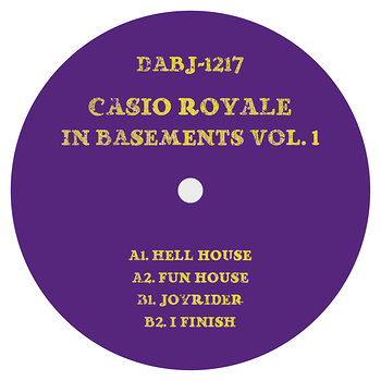Cover art - Casio Royale: In Basements Vol. 1