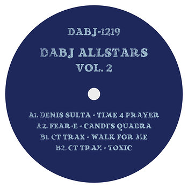 Cover art - Various Artists: DABJ Allstars Vol 2
