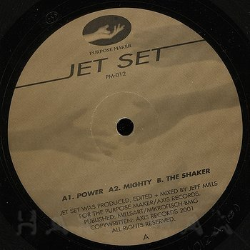 Cover art - Jeff Mills: Jet Set