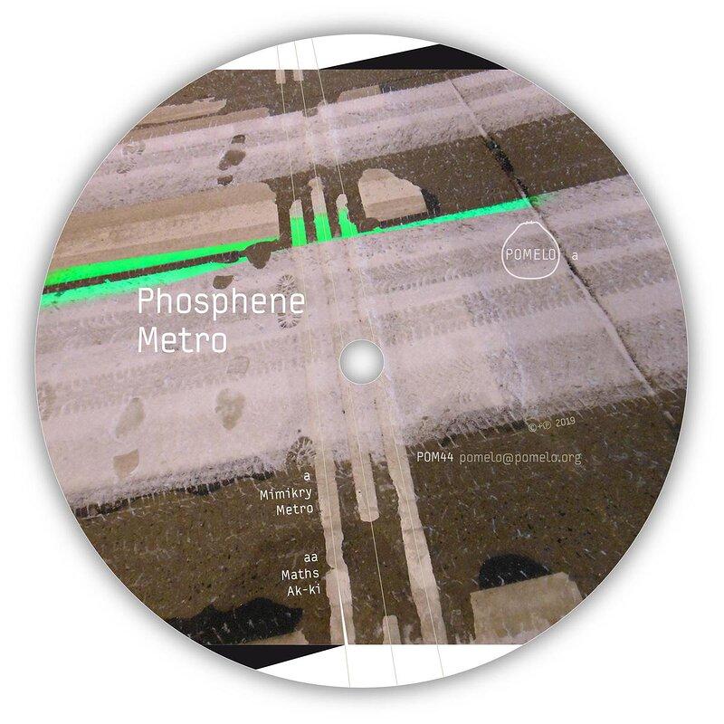 Cover art - Phosphene: Metro