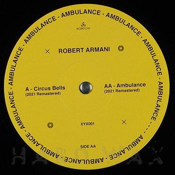 Cover art - Robert Armani: Circus Bells / Ambulance