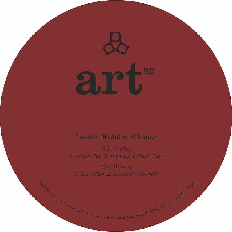 Cover art - London Modular Alliance: Precious Materials