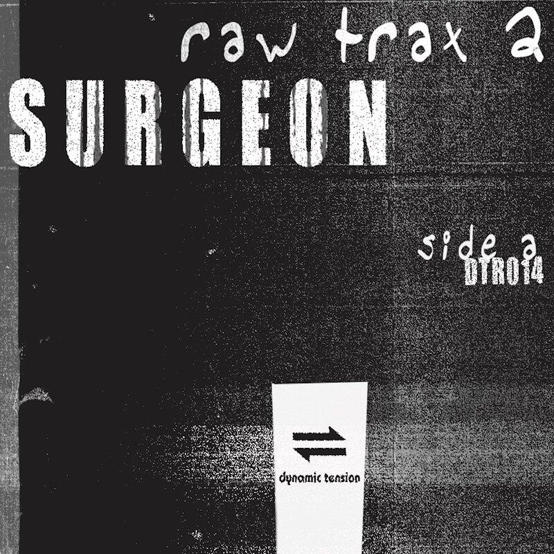 Cover art - Surgeon: Raw Trax 2