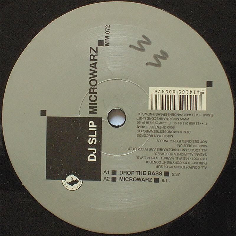 Cover art - DJ Slip: Microwarz
