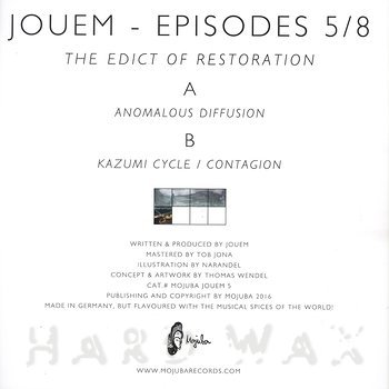 Cover art - Jouem: Episodes 5/8 - The Edict Of Restoration