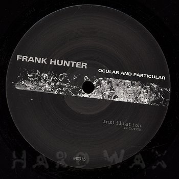 Cover art - Frank Hunter: Ocular And Particular