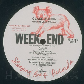 Cover art - Class Action: Week End (feat. C. Wiltshire)