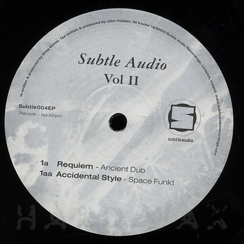 Cover art - Various Artists: Subtle Audio Vol. II