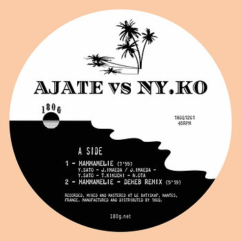 Cover art - Ajate vs Ny.Ko: Mammamelie / With Regularity