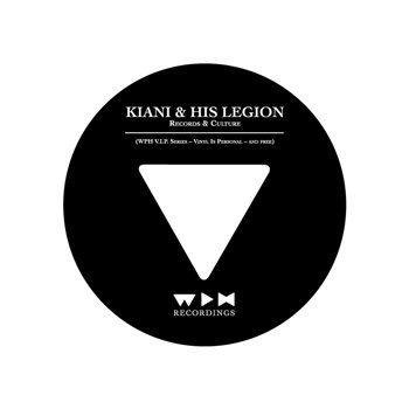 Cover art - Kiani & His Legion: Records & Culture