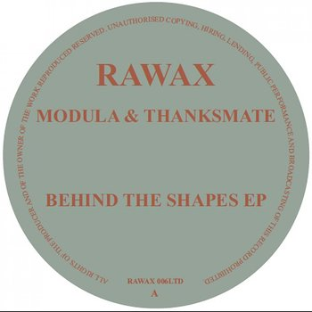 Cover art - Modula & Thanksmate: Behind The Shapes EP