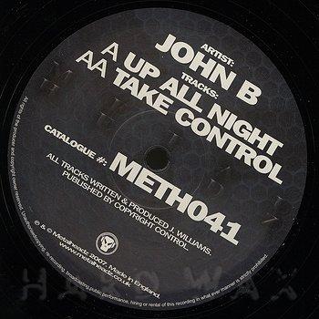Cover art - John B: Up All Night