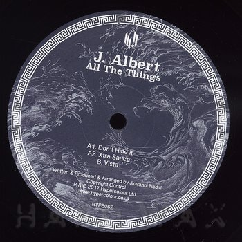 Cover art - J. Albert: All The Things