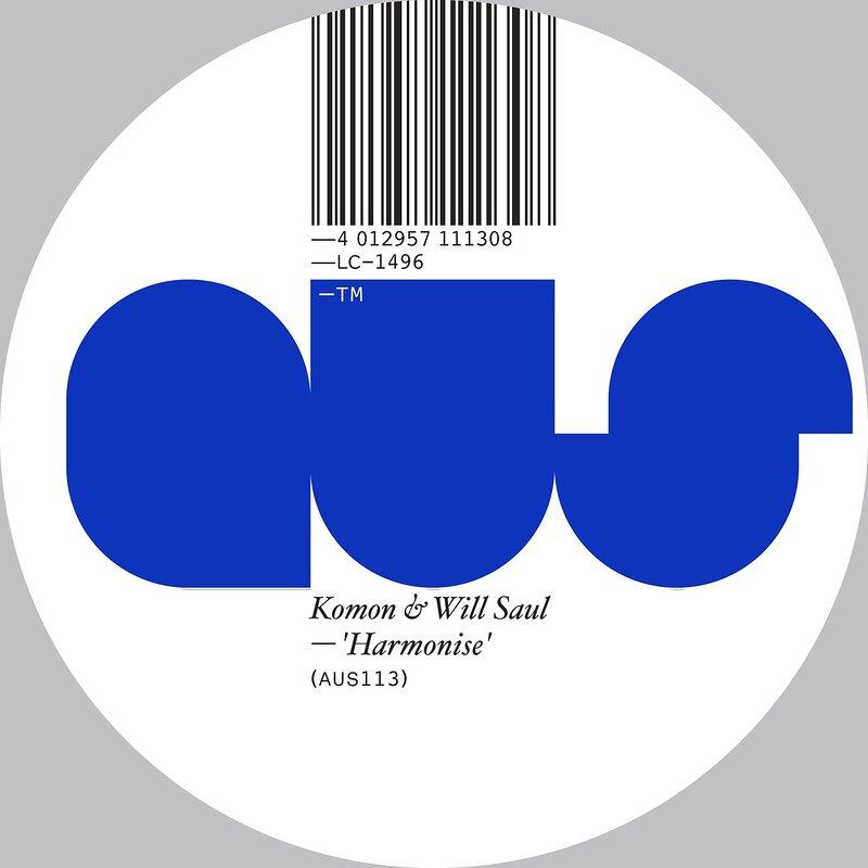 Cover art - Komon & Will Saul: Harmonise Remixes