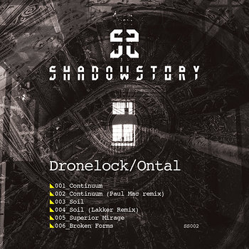 Cover art - Dronelock & Ontal: Continuum