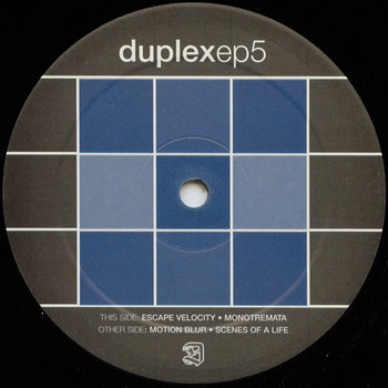 Cover art - Duplex: EP 5