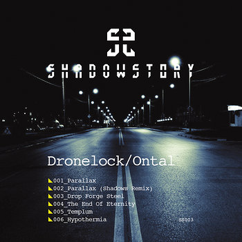 Cover art - Dronelock & Ontal: Parallax