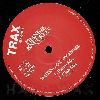 Cover art - Frankie Knuckles: Waiting On My Angel