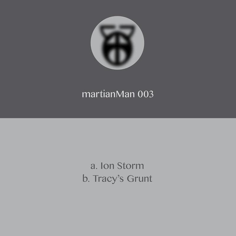 Cover art - Martian Man: Ion Storm