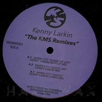 Cover art - Kenny Larkin: The KMS Remixes