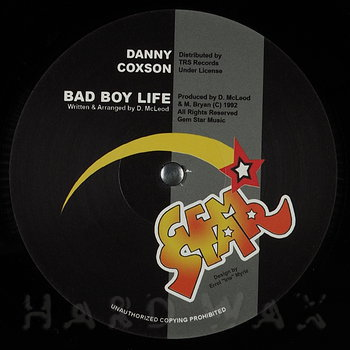 Cover art - Danny Coxson: Bad Boy Life / Mass Out
