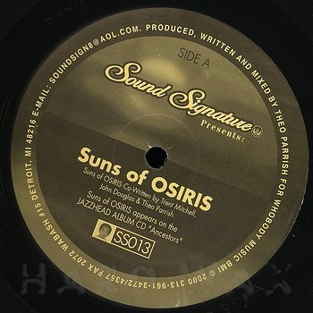 Cover art - Theo Parrish: Suns Of Osiris