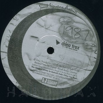 Cover art - Theo Parrish & Leron Carson: The 1987 EP