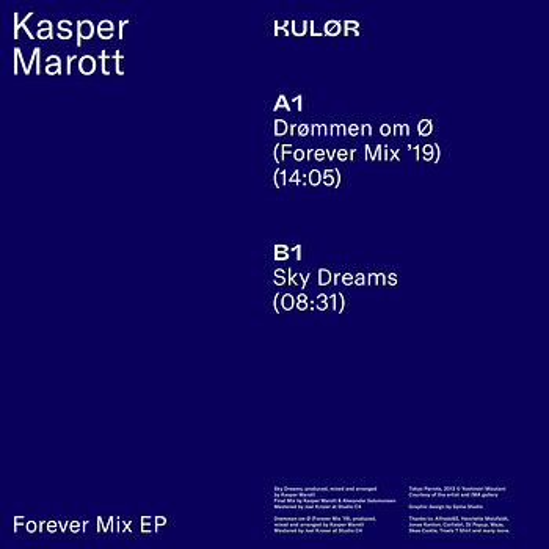 Cover art - Kasper Marott: Forever Mix EP