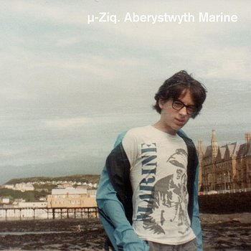 Cover art - µ-Ziq: Aberystwyth Marine