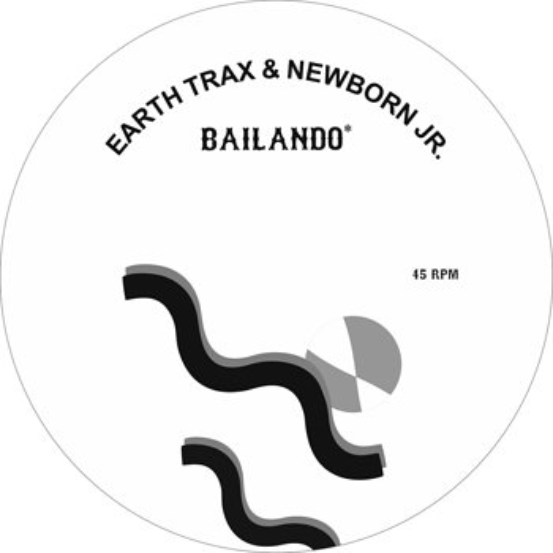 Cover art - Earth Trax & Newborn Jr.: Bailando/Aquamarine