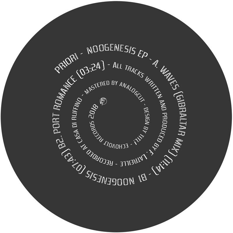 Cover art - Priori: Noogenesis EP
