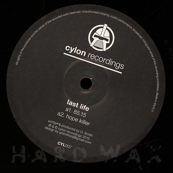 Cover art - Last Life: 85.15 EP