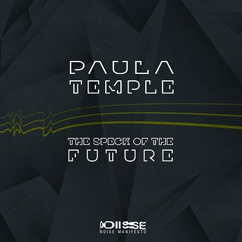Cover art - Paula Temple: The Speck of the Future EP