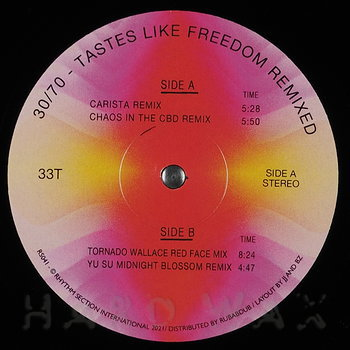 Cover art - 30/70: Tastes Like Freedom Remixed