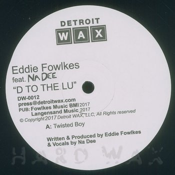 Cover art - Eddie Fowlkes: Twisted Boy
