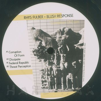 Cover art - Rhys Fulber & Blush Response: Corruption of Form