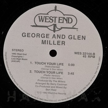 Cover art - George And Glen Miller: Touch Your Life