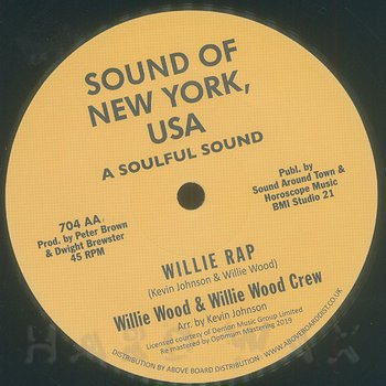 Cover art - Johnson Products / Willie Wood: Johnson Jumpin' / Willie Rap