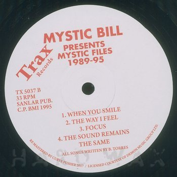 Cover art - Mystic Bill: Mystic Files 1989-95