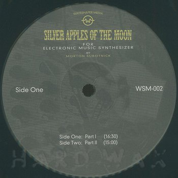 Cover art - Morton Subotnick: Silver Apples of the Moon (50th-anniversary Edition)