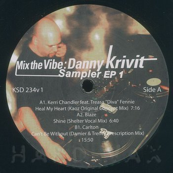 Cover art - Various Artists: Mix The Vibe: Danny Krivit Sampler EP 1