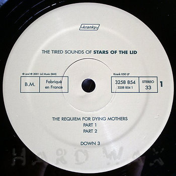Cover art - Stars Of The Lid: The Tired Sounds Of Stars Of The Lid