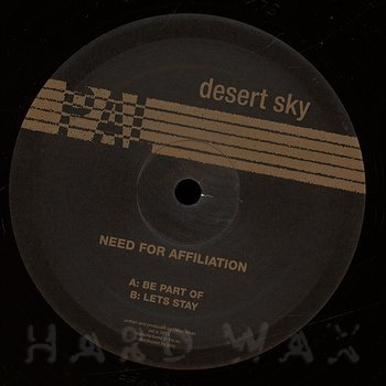 Cover art - Desert Sky: Need For Afiliation
