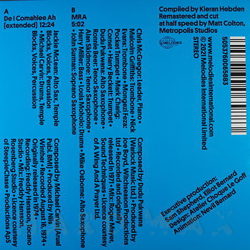 Cover art - McLean & Carvin / McGregor's Brotherhood Of Breath: Four Tet Selects
