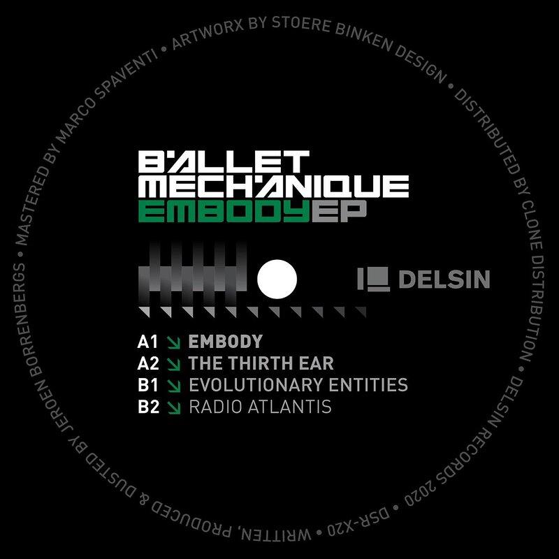 Cover art - Ballet Mechanique: Embody