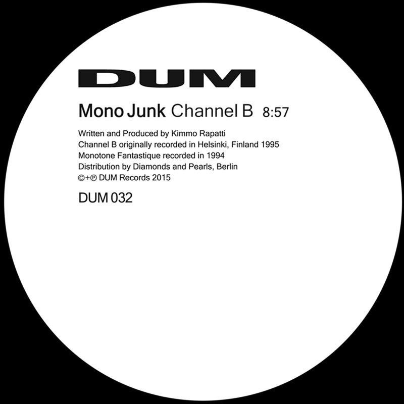 Cover art - Mono Junk: Channel B