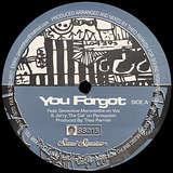 Cover art - Theo Parrish: You Forgot